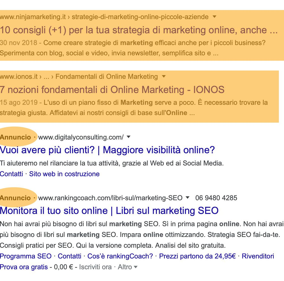 differenza tra seo e sem
